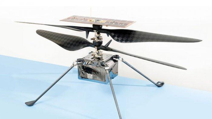 NASA Siapkan Helikopter Penjelajah Mars, Diterbangkan 20 Juli 2020