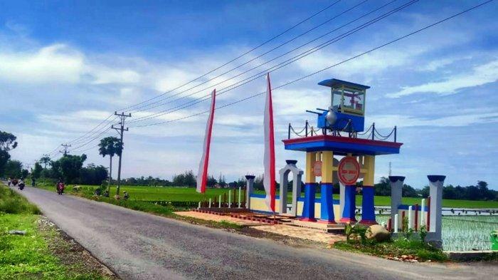 Ikon Baru Kabupaten Pemalang, Tugu Gerobak Nasi Goreng Keliling di Desa Jrakah, Begini Ceritanya
