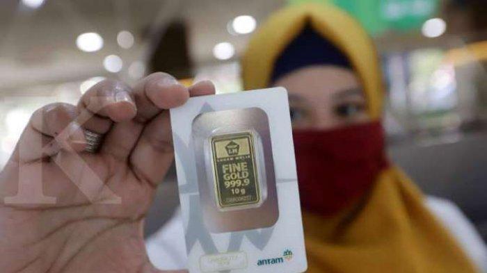 Harga Emas Antam di Pegadaian Pagi Ini, Rabu 17 Februari 2021 Rp 1.890.000 Per 2 Gram