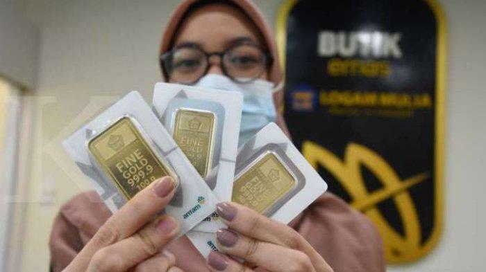 Harga Emas Antam di Pegadaian Pagi Ini, Jumat 13 November 2020 Rp 1.968.000 Per 2 Gram