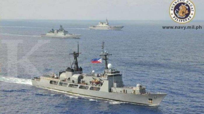 Filipina Kerahkan Kapal Perang, Halau Ratusan Kapal China Dekati Wilayah Sengketa Laut China Selatan
