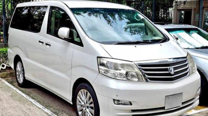 Mulai Rp 70 Juta Toyota Alphard Bekas di Bursa Lelang, Berikut Daftarnya