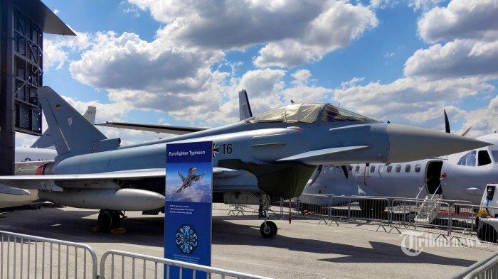 Ini Spesifikasi Eurofighter Typhoon, Pesawat Tempur yang Ingin Dibeli Menhan Prabowo