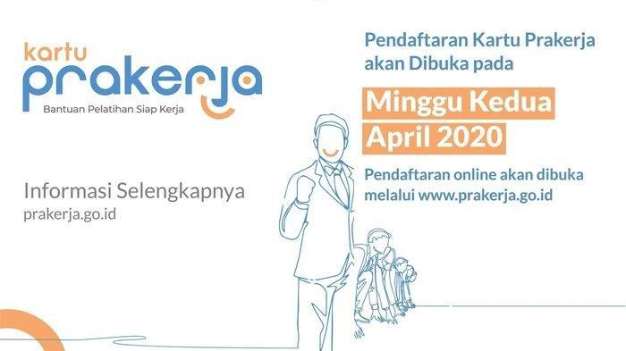 Pendaftaran Gelombang 2 Kartu Prakerja di Mulai Senin 20 April, Simak Langkah yang Harus Disiapkan