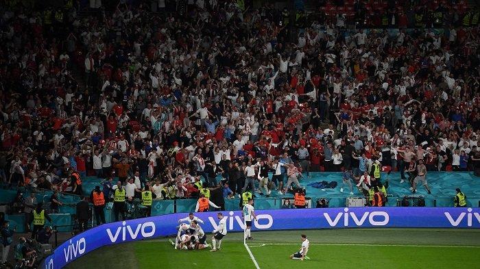 Hasil EURO 2020: Berkat Gol Bunuh Diri Denmark, Inggris Melaju ke Final. Tantang Italia