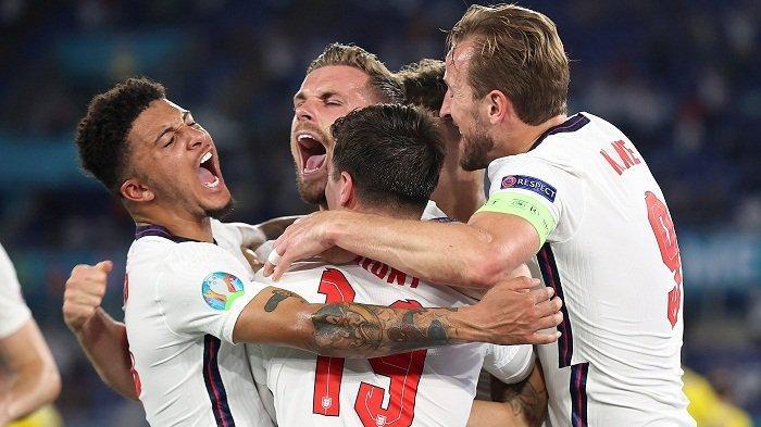 Hasil EURO 2020: Selamat, Inggris dan Denmark Melaju ke Semifinal