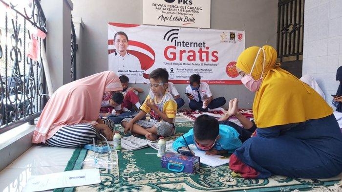 Pengin Ngirit Kuota? Datang Saja ke Rumah Aspirasi Zaenal Nurohman di Tegal, Sedia Internet Gratis