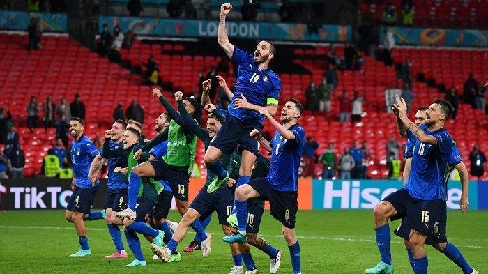 Hasil Euro 2020: Italia dan Denmark Melaju ke Perempat Final
