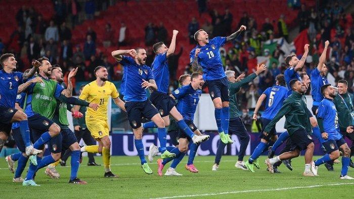 Italia Dijagokan Jadi Juara Euro 2020 Dibandingkan Inggris, Ini Statistik Pertemuan Keduanya