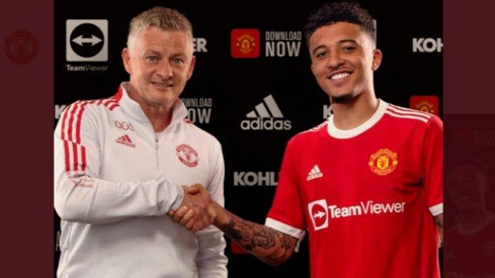 Jadon Sancho Resmi Jadi Pemain Anyar Manchester United, Diikat Kontrak Lima Tahun