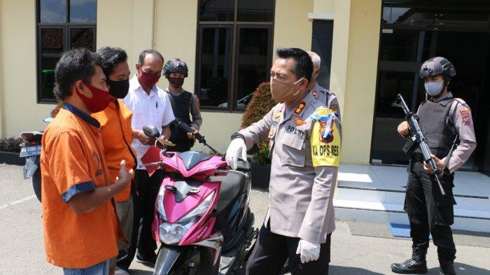 Penadah Motor Curian Warga Banyumas Ditangkap Setelah Menjual Motor Curian Di Facebook
