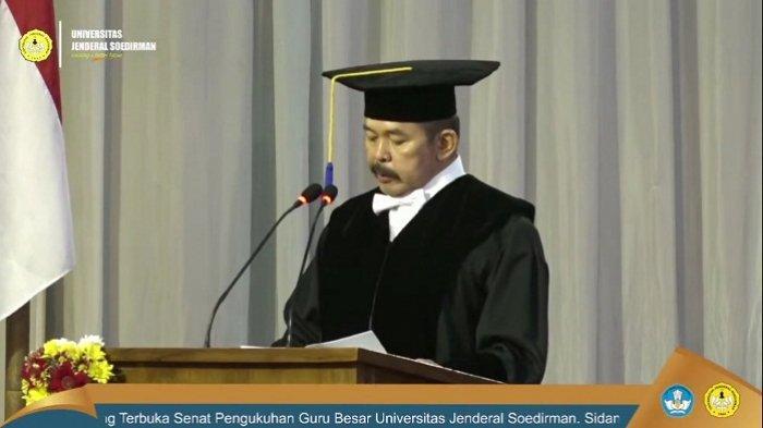 Dikritik BEM tapi Didukung Alumni, Ini Alasan Unsoed Angkat Jaksa Agung Burhanuddin Jadi Guru Besar