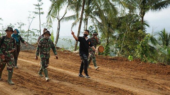 Setelah Jalan Baru Dibuka TMMD, di Desa Tegalpingen Purbalingga Diharapkan Ada Track Paralayang