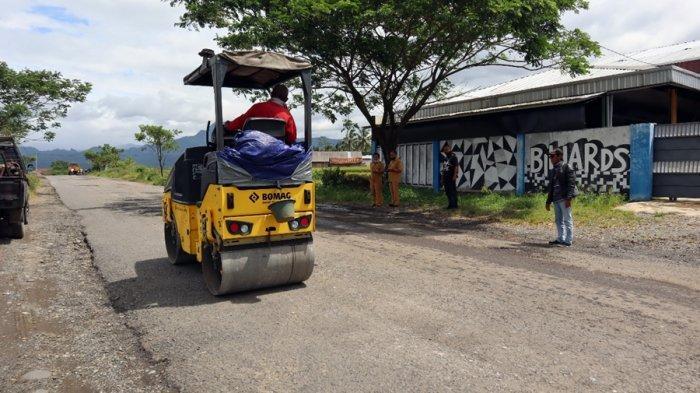 Angin Segar Buat Warga Banjarmangu Banjarnegara, Maret 2021 Betonisasi Jalan Pucang-Jenggawur