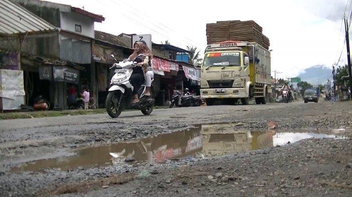 Jalan Provinsi Rusak Parah, Penghubung Temanggung dan Kendal di Ngadirejo, Tiap Hari Ada Korban