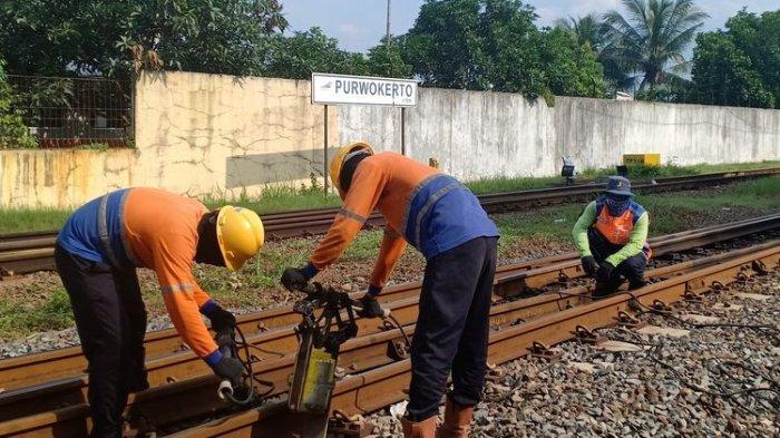 Terdeteksi Ada Lima Titik Rawan Bencana, PT KAI Daop V Purwokerto Siagakan AMUS