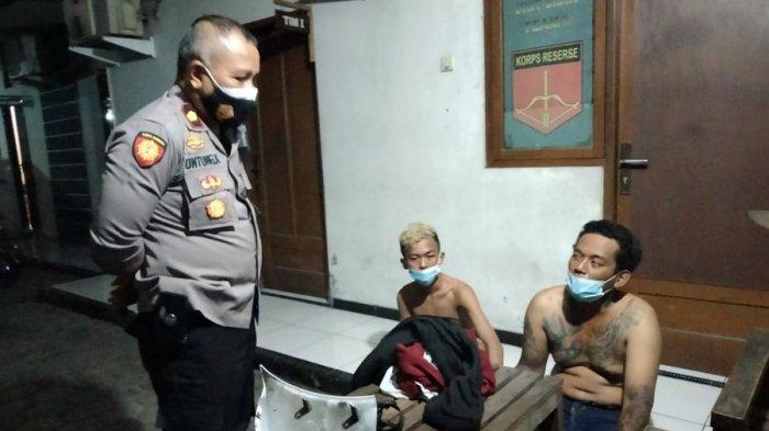 Kedua Penjambret Gagal Kabur, Tabrak Mobil di Jalan Kiai Saleh Semarang, Begini Nasib Mereka