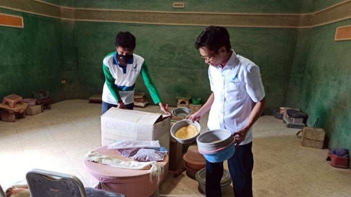 Petugas Gerebek Tempat Produksi Jamu Ilegal di Kroya Cilacap, Sebagian Gunakan Bahan Kimia Obat