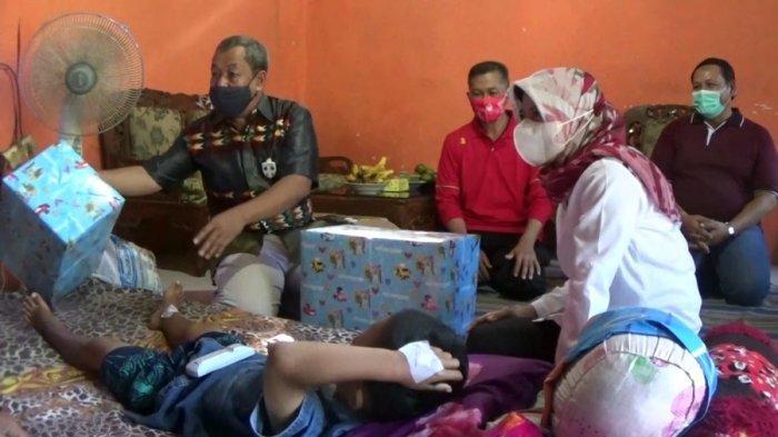 Anak yang Dibacok Tetangganya di Argopeni Kebumen Dapat Pendampingan Psikologi