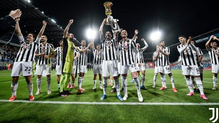 Selamat! Juventus Bawa Pulang Piala Coppa Italia 2020-2021 meski Babak Belur Hadapi Atalanta
