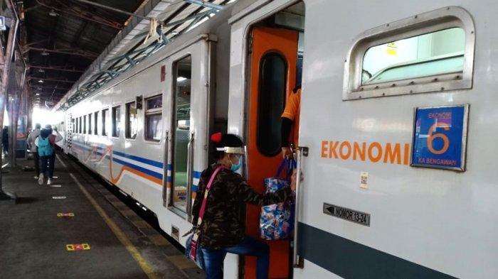 Delapan Kereta Batal Berangkat, Khusus Wilayah PT KAI Daop V Purwokerto, Berikut Daftar Rincinya