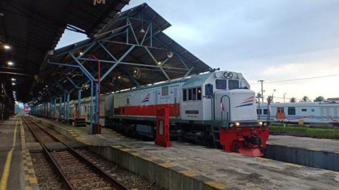 KA Logawa dan Sawunggalih Beroperasi Lagi Setiap Hari di Stasiun Purwokerto