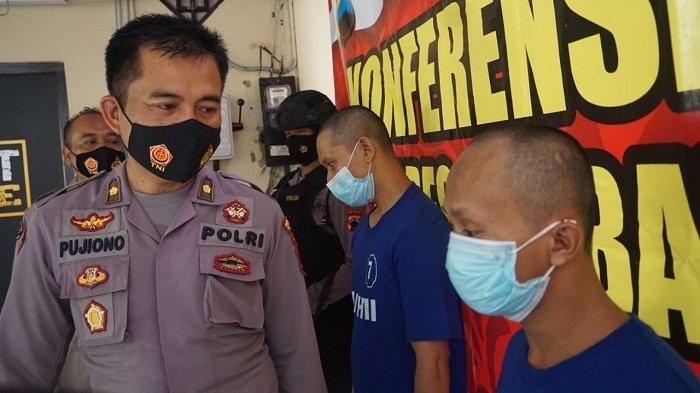 Tak Kapok, Dua Residivis di Purbalingga Beraksi Lagi. Curi Toko Kelontong, Gondol Rokok dan Uang