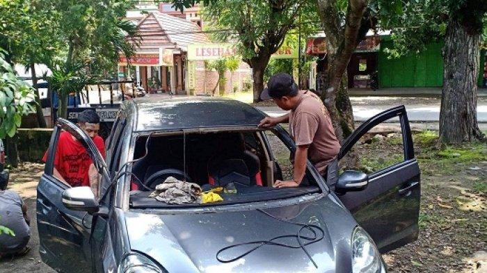 Teror Lempar Batu Terjadi di Jalan Raya Solo-Sragen, Kaca Mobil Warga Sragen Ambyar