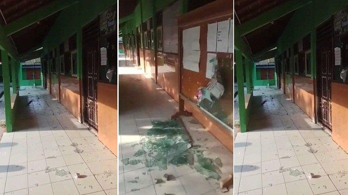Kaca Ruang Kelas SDN 2 Gunungsari Boyolali Pecah Diduga Ulah Orang Tak Dikenal, Polisi Turun Tangan