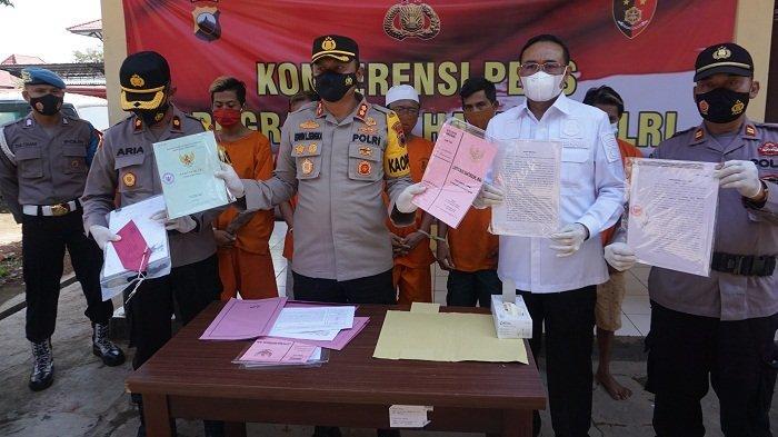 Polres Batang Ungkap Kasus Mafia Tanah Senilai 3 Miliar, Tersangka Jual Tanah Bukan Miliknya