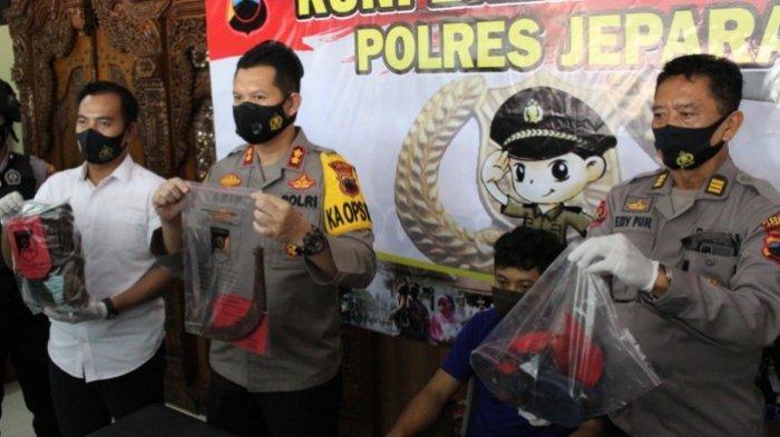 Tertangkap, Pelaku Pembacokan di Poskamling Bendapete Jepara Ngamuk Korban Tolak Diajak Minum Miras