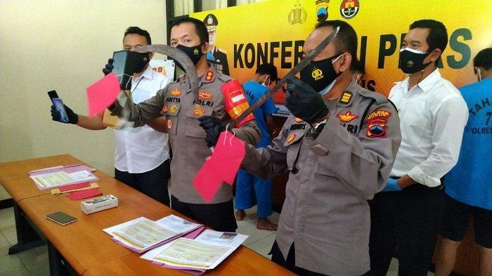 Ditangkap, 2 Pembegal Polisi di Dersalam Kudus Masih Berumur Belasan Tahun