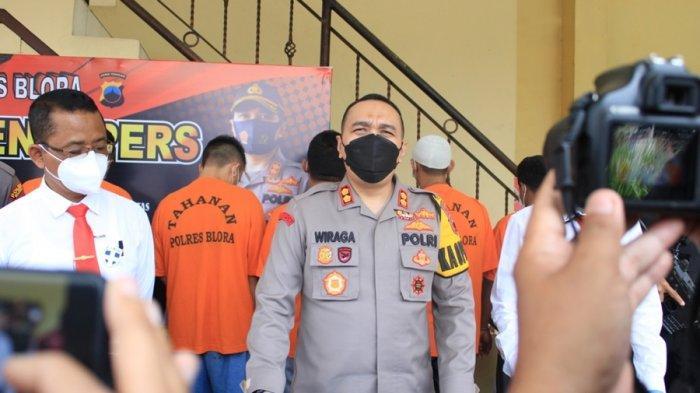 Pelarian Darto Akhirnya Terhenti, 21 Bulan Jadi Buronan Polres Blora, Pelaku Pembalak Kayu Jati