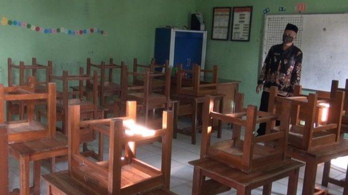 KBM Tatap Muka Dihentikan Sementara, Lokasi Terlalu Dekat Pasar Kupu Kabupaten Tegal