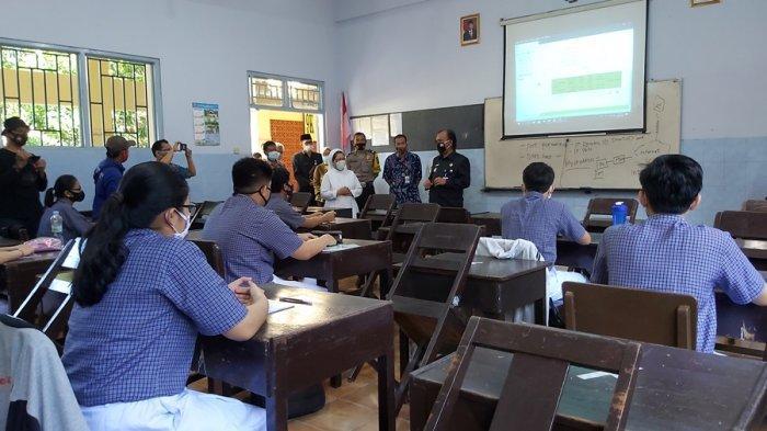 Satu-satunya Sekolah Swasta di Jateng, Begini Model KBM Tatap Muka di SMA Pius Tegal