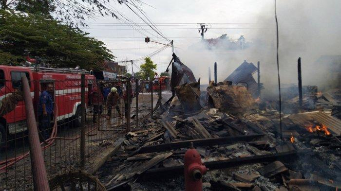 Sugiono Cuma Mampu Selamatkan Tiga Karung Kacang Hijau, Kebakaran Pasar Srogo Kendal