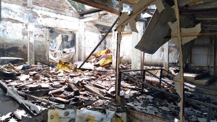 Kebakaran Gudang Kasur di Purbalingga, Pekerja: Api Muncul di Bagian Belakang dan Langsung Membesar