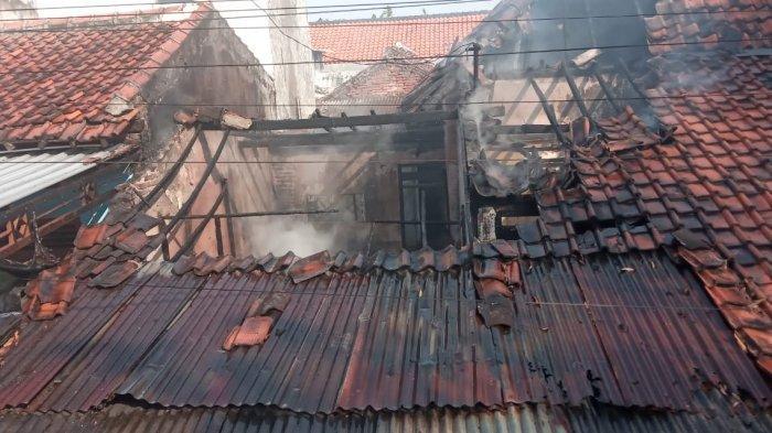 Rumah Warga Tegal Hangus Terbakar Seusai Lupa Mematikan Kompor