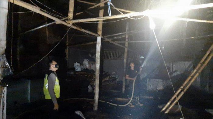 Rumah Produksi Kerupuk di Senon Purbalingga Ini Terbakar, Begini Kronologi Penyebabnya