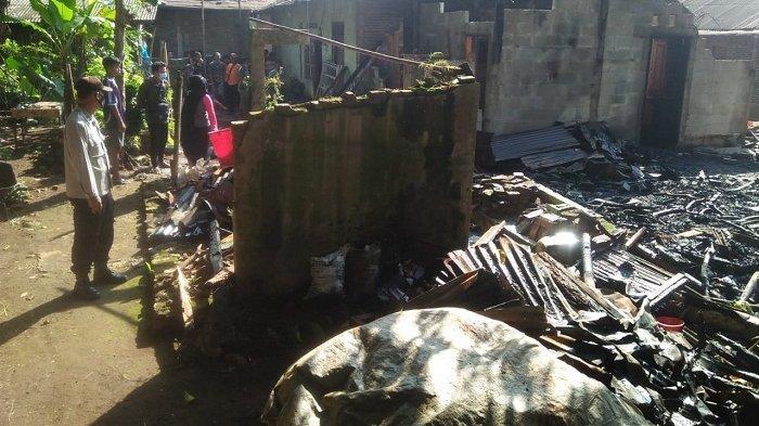 Dapur Rumah Warga Mrebet Purbalingga Ludes Terbakar, Api Diduga Muncul dari Bara Tungku