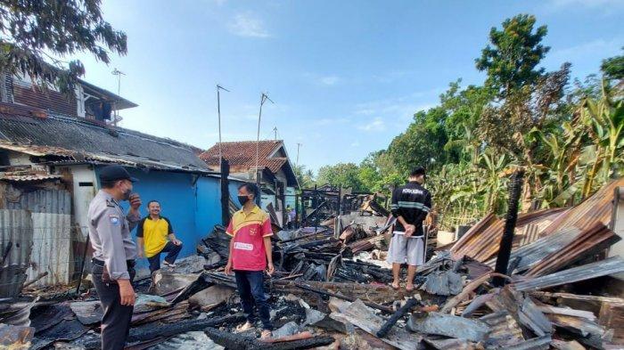 5 Rumah di Purwokerto Selatan Ludes Terbakar, 4 Mobil Damkar Dikerahkan