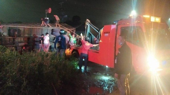 Kecelakaan Maut di Dekat Pasar Sapi Salatiga: Truk Tabrak 2 Mobil, 2 Orang Tewas