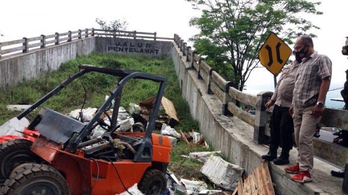 Begini Kronologi Kecelakaan Maut di Kertek Wonosobo, Laju Truk Ekspedisi Mulai Tak Beres di Kalikuto