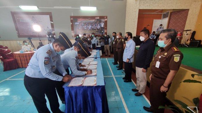 Kemenkumham Targetkan Separuh Satuan Kerja di Jateng Raih Predikat WBK dan WBBM