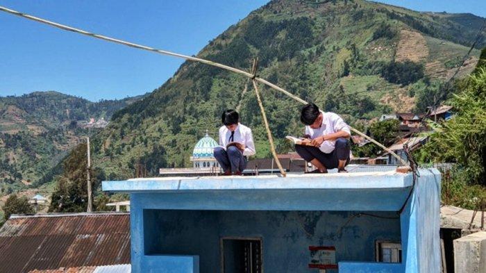 Sapras SMPN 4 Bawang Bakal Dipenuhi Pemkab Batang, Enam Tahun Listrik Numpang Warga