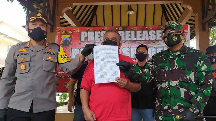 Kades Jenar Sragen Berulah Lagi: Ngamuk di Acara Hajatan yang Dibubarkan Satgas, Berakhir Minta Maaf
