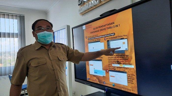 Dinkes Kota Semarang Buka Layanan Vaksinasi Covid Sistem Drive Thru, Ini Syarat dan Cara Menerimanya