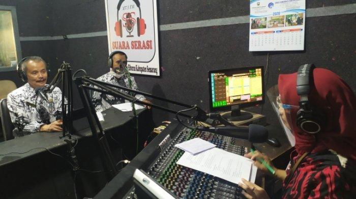 Disdikbudpora Semarang Fasilitasi Siswa Tak Miliki HP dan Susah Sinyal, Belajar Lewat Siaran Radio