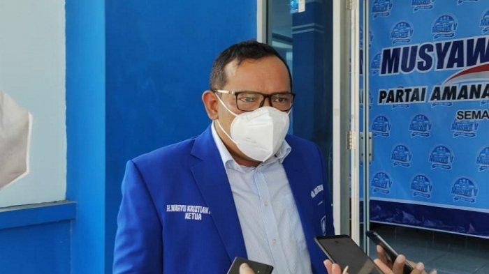 Eks Ketua DPC Gerindra Kota Semarang Sigit Ibnugroho Masuk Formatur DPW PAN Jateng, Lompat Partai?