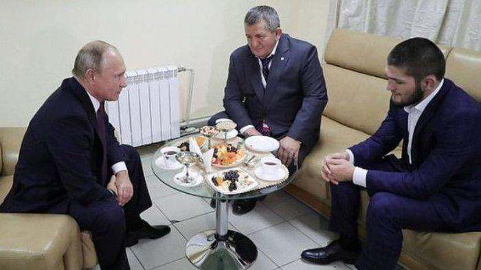 Khabib Nurmagomedov Berduka, Sang Ayah Meninggal Dunia, Presiden Rusia Putin Beri Penghormatan